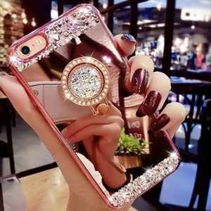IPhone 7/8 PlusLuxury Case w/ Ring Stand